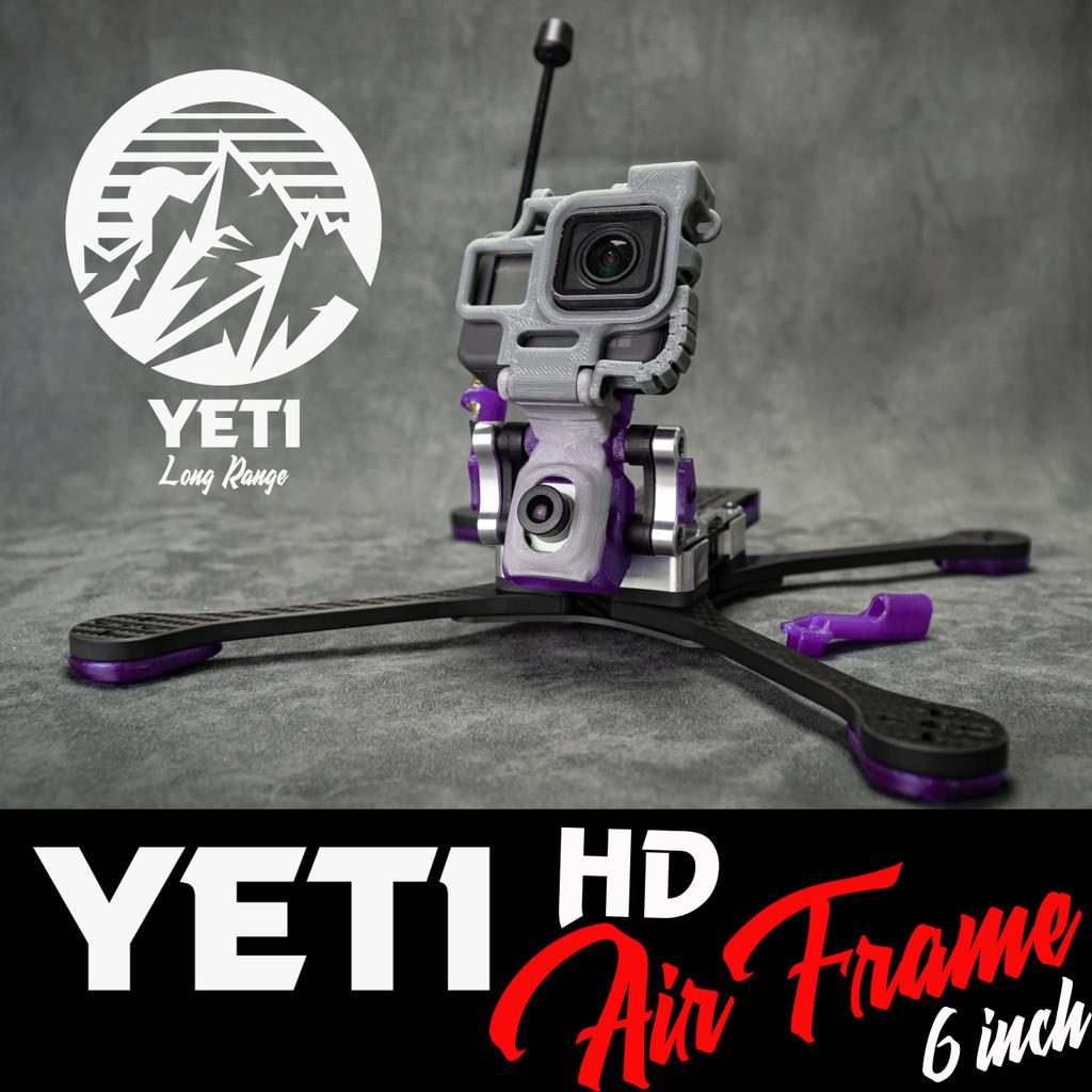 "Yeti 6"" HD Long Range Frame"