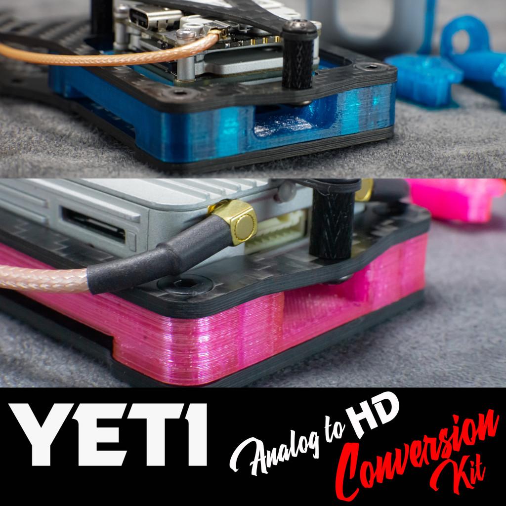 Anlalog Yeti to DJI Air Unit/Caddx Vista Conversion Kit
