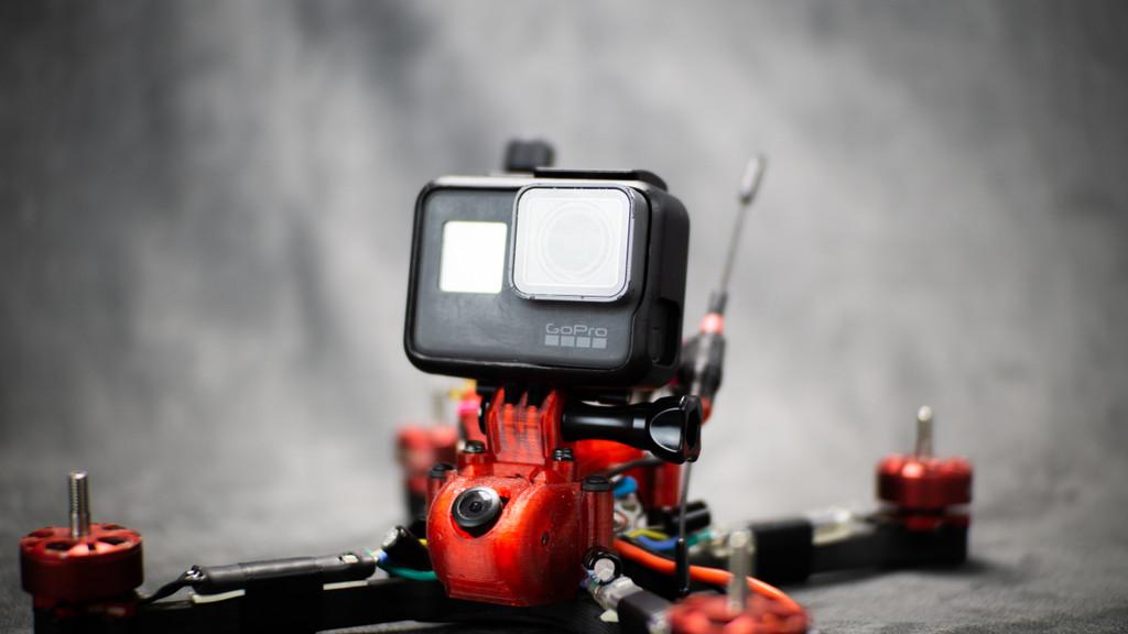 ruXus 3 Prong Universal Action Camera Mount