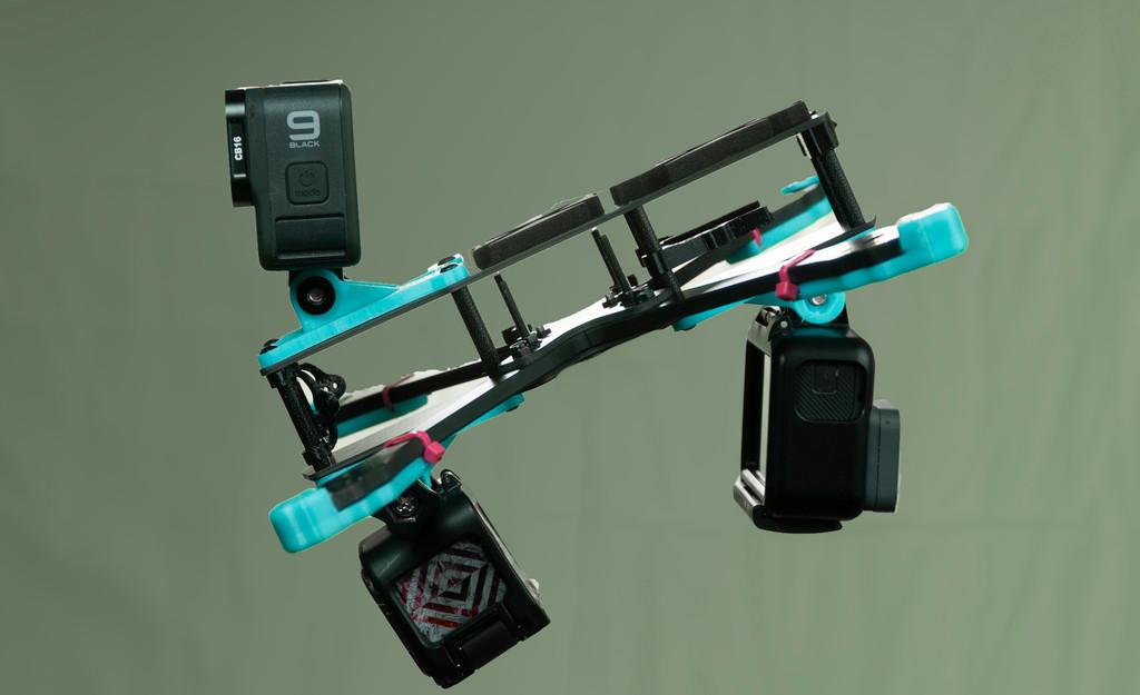 Three Prong CinePack Mount For Rebel Basic Frame