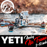"Yeti 8""-10"" Analog Long Range Frame"