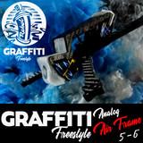 Graffiti Freestyle Analog Frame