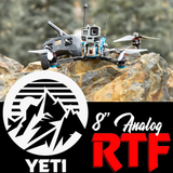 "Yeti 8"" Analog Ready to Fly"