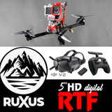 ruXus 5 inch DJI HD Ready to Fly Goggles & Radio Bundle