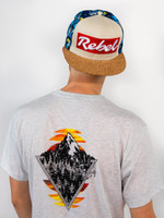 Dive Peaks Edition Cork Brim Rebel Hat  (Discontinued Limited Edition)