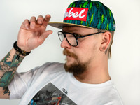 Fly Trees Edition Wood Brim Rebel Hat
