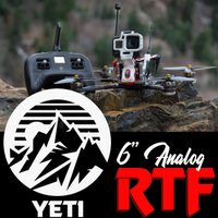 "Yeti 6"" Analog Long Range Ready to Fly"
