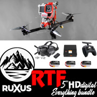 ruXus 5 inch DJI HD Ready to Fly Everything Bundle