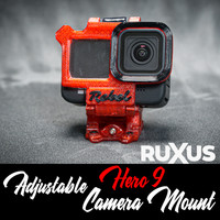 ruXus GoPro Hero 9 Adjustable Camera Mount