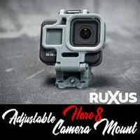 ruXus GoPro Hero 8 Adjustable Camera Mount