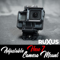 ruXus GoPro Hero 7 Adjustable Camera Mount