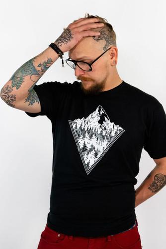 Black Minimalist (Unisex Cotton)