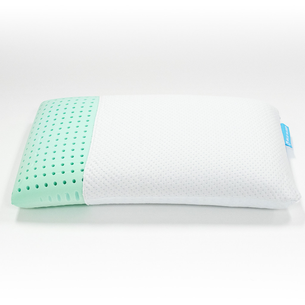 BluSleep Bio Aloe Memory Foam Pillow infused with Aloe Vera Oil