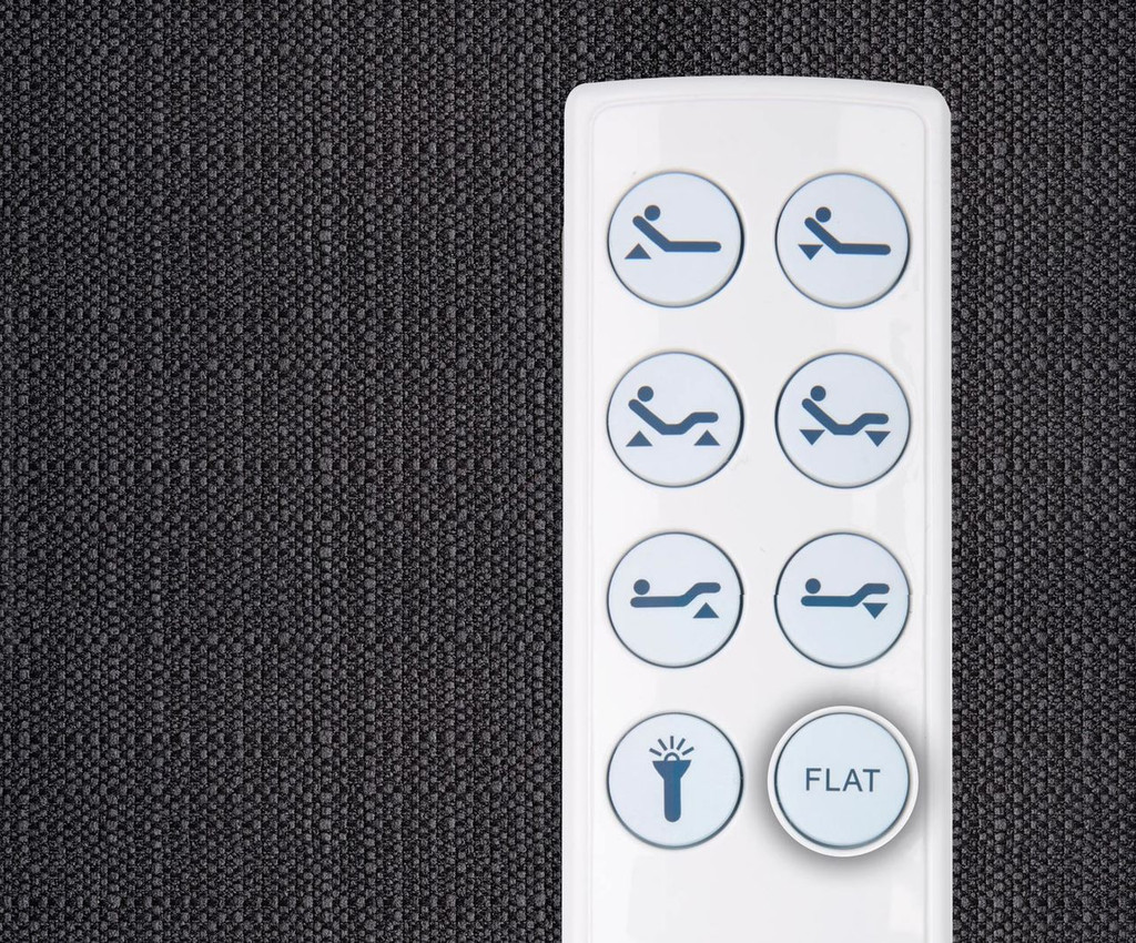 One touch Flat Button Cordless Remote