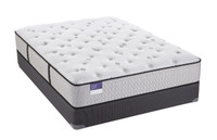 Sealy Crown jewel Black Opal Cushion Firm Mattress Set