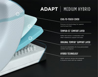 Tempur-Pedic Adapt HYBRID Medium