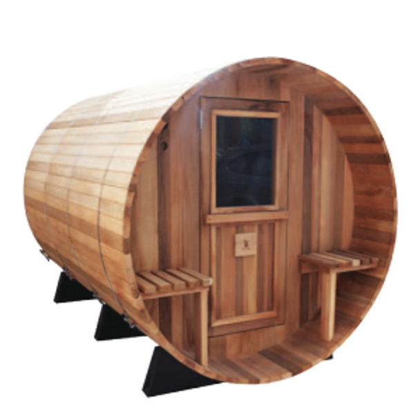 Reindeer Barrel Canopy 68-6 Sauna (Ceder)