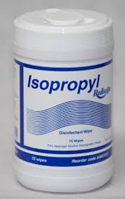 Rediwipe Isopropyl Canisters (12x100)