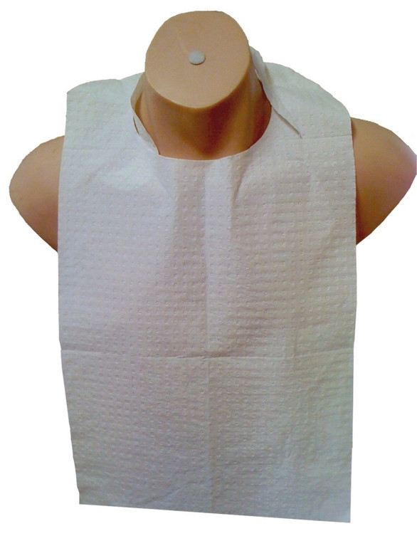Protective Bibs with Ties (5x100)