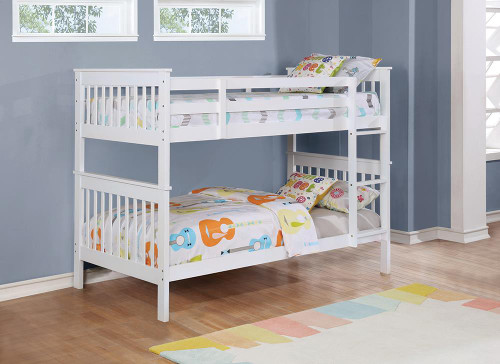 Chapman Collection - Chapman Twin Over Twin Bunk Bed White