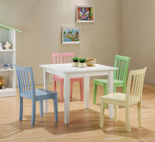 Rory Collection - Rory 5-piece Dining Set Multi Color