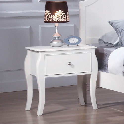 Dominique Collection - Dominique 1-drawer Nightstand White