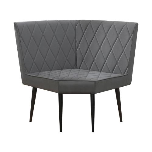 Grey - Corner Bench