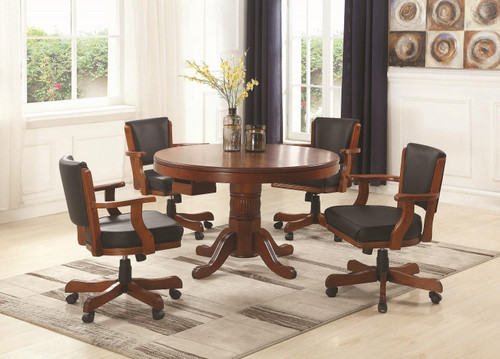 Mitchell Game Table - Mitchell 3-in-1 Game Table Merlot