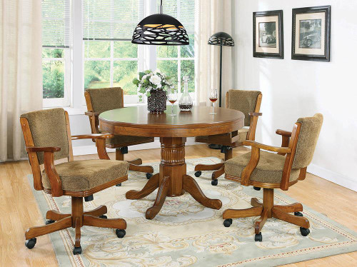 Mitchell Game Table - Mitchell 3-in-1 Game Table Amber