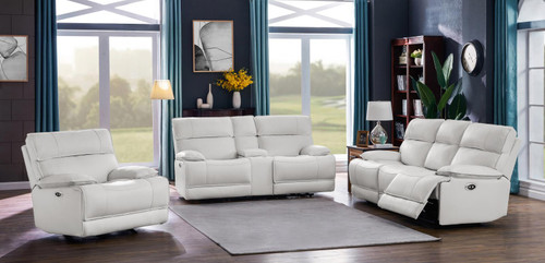 Stanford Motion Collection - White - 3 Pc Set