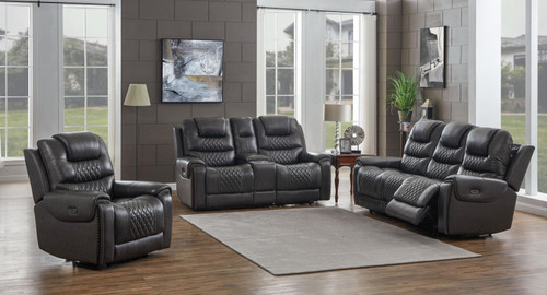 North Motion Collection - Charcoal - 3 Pc Set