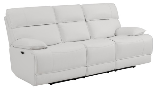 Stanford Motion Collection - White - Power Sofa