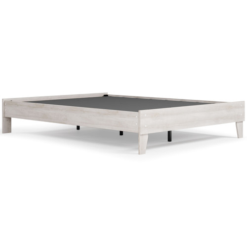 Paxberry Two-tone Queen Platform Bed