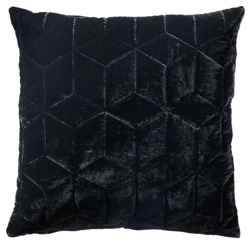 Darleigh Black Pillow (4/CS)