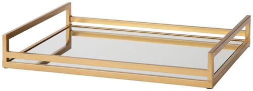 Derex Gold Finish Tray