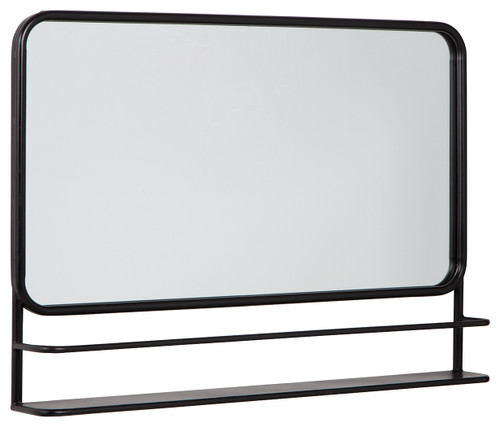 Ebba Black Accent Mirror