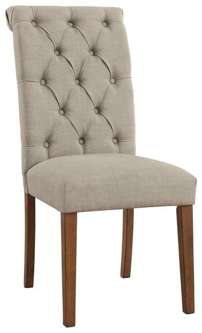 Harvina Beige Dining Upholstered Side Chair  (Set of 2)
