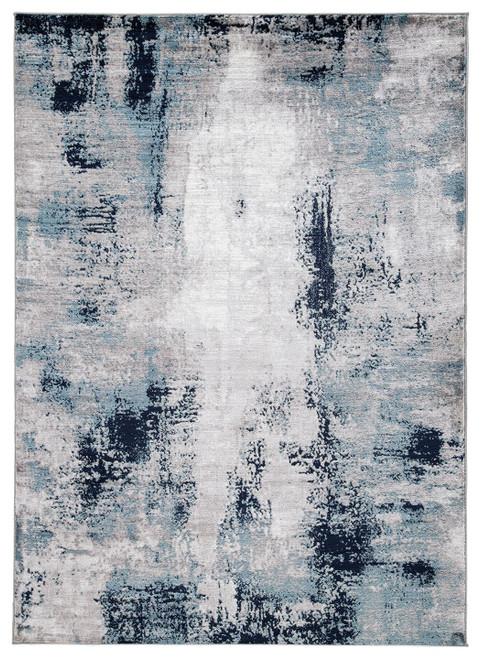 Leonelle Cream/Blue/Gray Large Rug