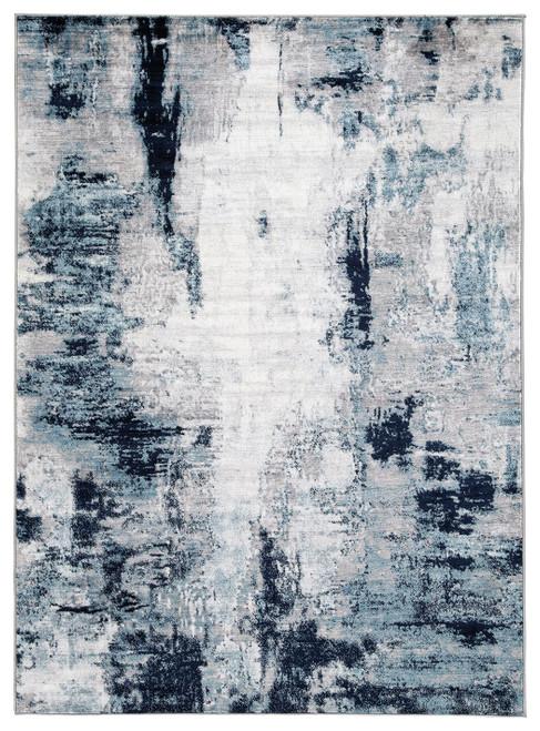 Leonelle Cream/Blue/Gray Medium Rug