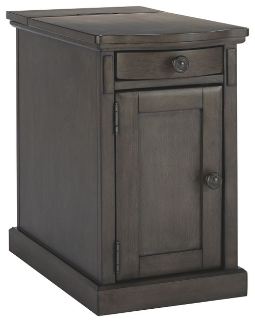 Laflorn Gray Chair Side End Table (Currently Unavailable)
