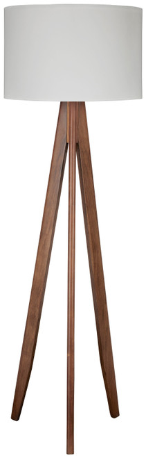 Dallson Brown Wood Floor Lamp (1/CN)