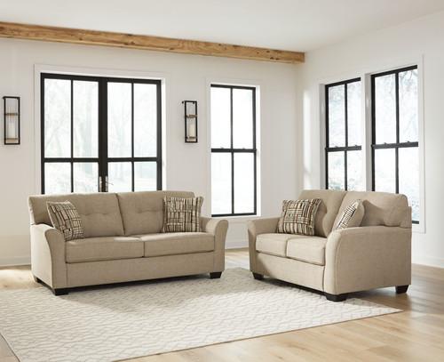 Ardmead Putty 2 Pc. Sofa, Loveseat