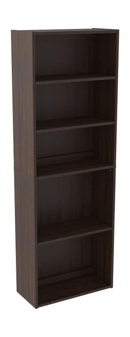 Camiburg Warm Brown Bookcase