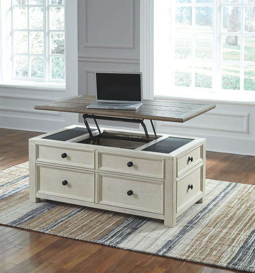 Bolanburg Two-tone Lift Top Cocktail Table