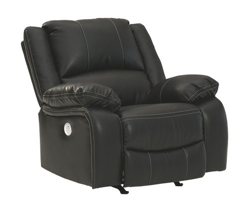 Calderwell Black Power Rocker Recliner
