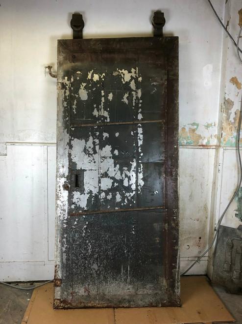 Early 1900's Factory Fire Door - Keystone Fire Door Co.