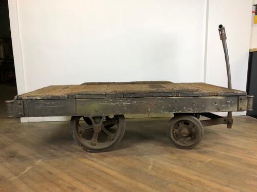 Vintage Factory Cart