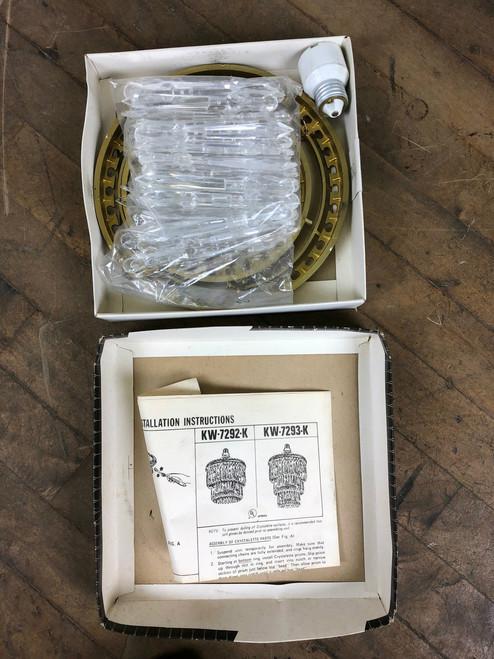 Vintage Crystalette Chandelier KW 7292K