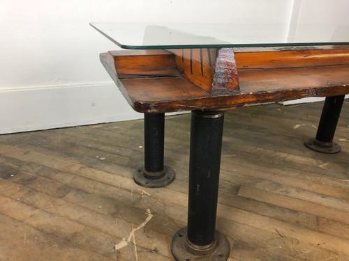 Bethlehem Steel Wood Pattern Coffee Table - BMC