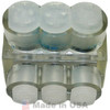 Burndy Products BIBS4-3 Multiple Wire Terminal, Clear